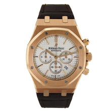 Load image into Gallery viewer, Audemars Piguet Royal Oak Chronograph with Brown Leather Strap 26320OR.OO.D088CR.01