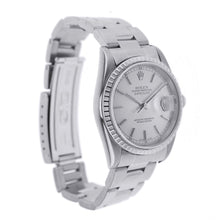 Load image into Gallery viewer, Rolex Oyster Perpetual Datejust Stainless Steel with Fluted Bezel 36MM 16200