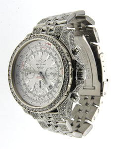 Stainless Steel and Diamond Breitling for Bentley Motors