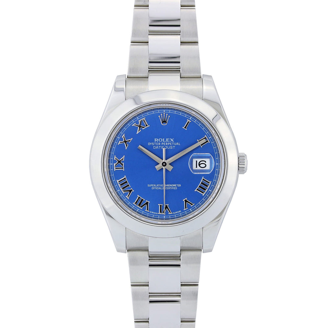 Rolex Datejust II 41MM Stainless Steel Blue Dial 116300