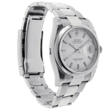Load image into Gallery viewer, Rolex Oyster Perpetual Datejust Watch Stainless Steel Domed Bezel & Oyster Band 36MM 116200