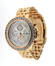 Load image into Gallery viewer, Yellow Gold Diamond GT Racing Breitling Bentley Watch