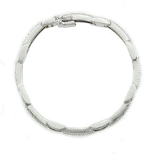 Load image into Gallery viewer, 14K White Gold Diamond Braclet with 1.50CT Of Round Cut Diamonds