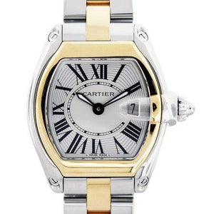 Cartier Roadster 37x44mm 2510S Gold Stainless Steel Case and Bracelet