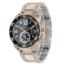 Load image into Gallery viewer, Cartier Calibre Two Tone Stainless Steel & Rose Gold 42mm