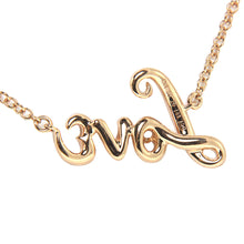 "Load image into Gallery viewer, 18K Rose Gold Diamond ""Love"" Pendant with Chain 0.20CT"