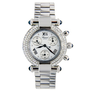 Chopard Imperiale Ladies Stainless Steel with Diamond Bezel 30mm