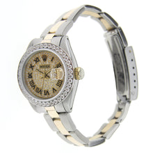 Load image into Gallery viewer, Vintage Rolex Oyster Perpetual Lady Datejust Two Tone 26MM 79173