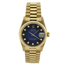 Load image into Gallery viewer, Rolex Oyster Perpetual Lady Datejust with Diamond Blue Dial 31mm 178278