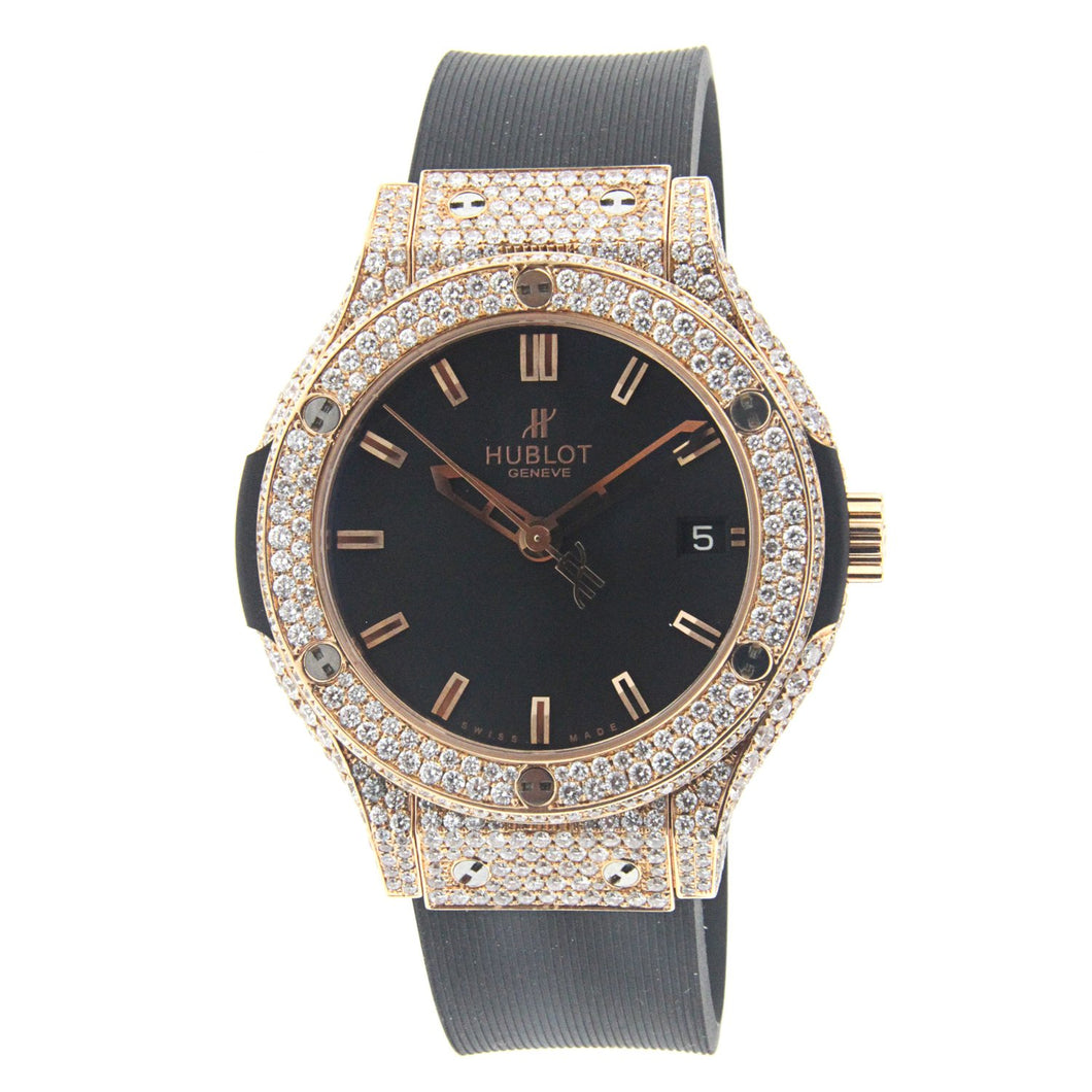 Hublot Classic Fusion Red Gold with Diamonds 38MM 561.PX.1180.RX