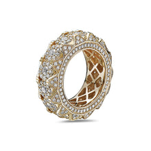 Load image into Gallery viewer, Men's 14K Yellow Gold Band with 4.85 CT Diamonds