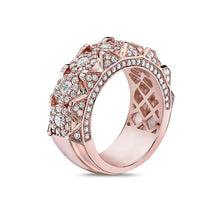Load image into Gallery viewer, Men's 14K Rose Gold Band with 2.35 CT Diamonds