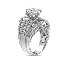 Load image into Gallery viewer, Ladies 18k White Gold With 2.56 Ct Engagement Ring
