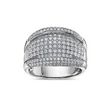 Load image into Gallery viewer, Men's 14K White Gold Ring with 2.15 CT Diamonds