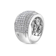 Load image into Gallery viewer, Ladie 18k White Gold With 1.97 CT Right Hand Ring