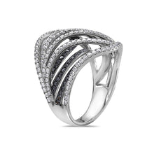 Load image into Gallery viewer, Ladies 18k White Gold With 2.20 CT Righ Hand Ring