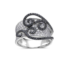 Load image into Gallery viewer, Ladies 14k White Gold With 2.61CT Right Hand Ring