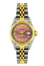 Load image into Gallery viewer, Rolex Datejust 26mm Yellow Gold and Stainless Steel Bracelet Coral Tree Dial w/ Diamond Lugs
