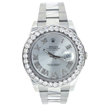 Load image into Gallery viewer, Rolex Oyster Perpetual Datejust II with Diamond Bezel 41MM 116300