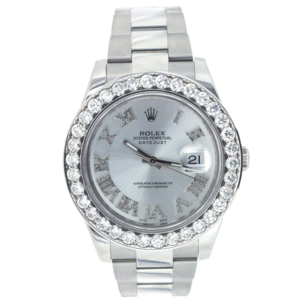 Rolex Oyster Perpetual Datejust II with Diamond Bezel 41MM 116300