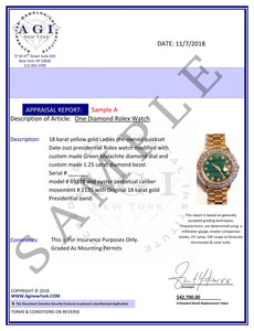 Rolex Datejust 36mm Yellow Gold and Stainless Steel Bracelet Pink Flower Dial w/ Diamond Bezel