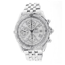 Load image into Gallery viewer, Breitling Crosswind Chronograph Watch with Diamond Bezel