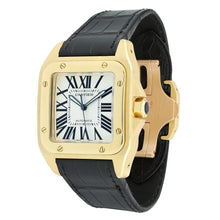 Load image into Gallery viewer, Cartier Santos 100 Large Yellow Gold W20071Y1