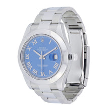 Load image into Gallery viewer, Rolex Datejust II 41MM Stainless Steel Blue Dial 116300