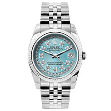 Load image into Gallery viewer, Rolex Datejust 26mm Stainless Steel Bracelet Turquoise Dial
