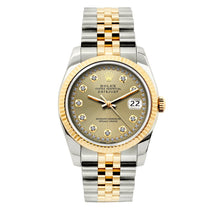 Load image into Gallery viewer, Rolex Datejust 36mm Yellow Gold and Stainless Steel Bracelet Gold Dial