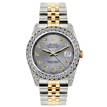 Load image into Gallery viewer, Rolex Datejust 26mm Yellow Gold and Stainless Steel Bracelet Aluminum Dial w/ Diamond Bezel and Lugs