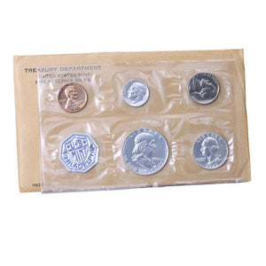 1962 Silver Proof Set (OGP) 5 coins