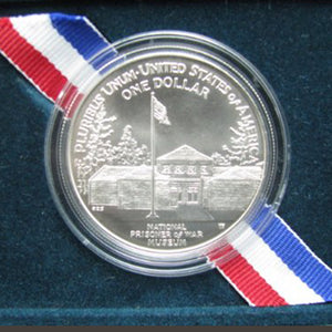 1994-P POW Proof Commemorative Dollar 90% Silver OGP