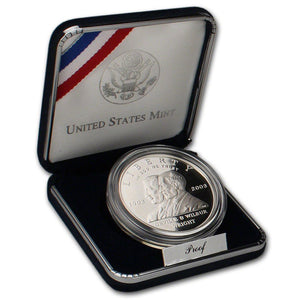 2003-P First Flight Proof Commemorative Dollar 90% Silver OGP