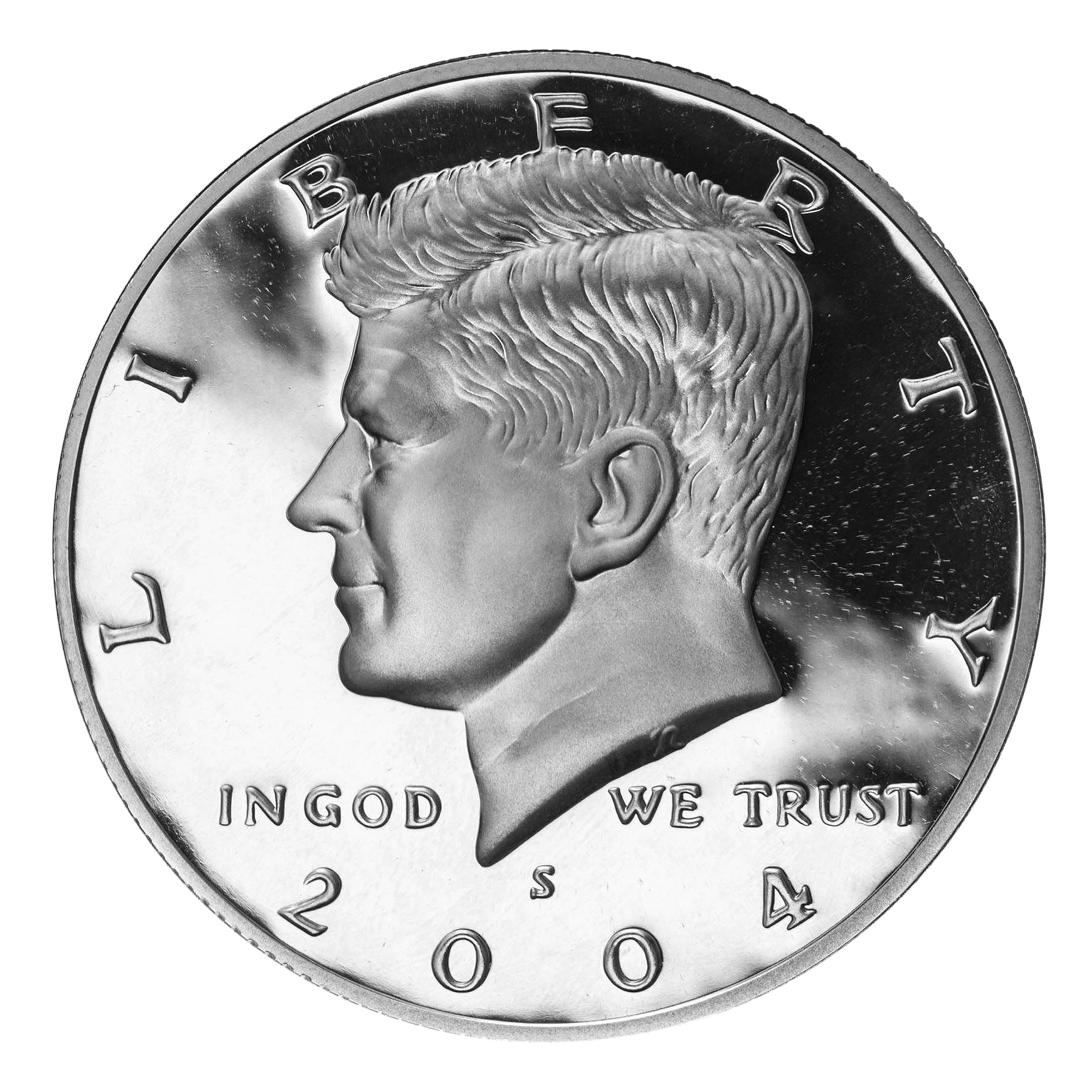 2004 S Kennedy Half Dollar 90% Silver Proof
