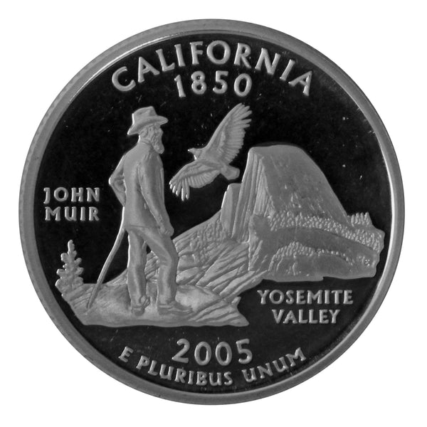 2005 S California State Quarter Proof Roll CN-Clad (40 Coins)