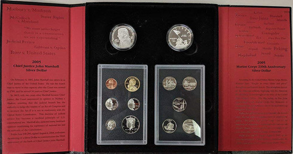 2005-2008 American Legacy Proof Set Run 4 Sets 56 Coins