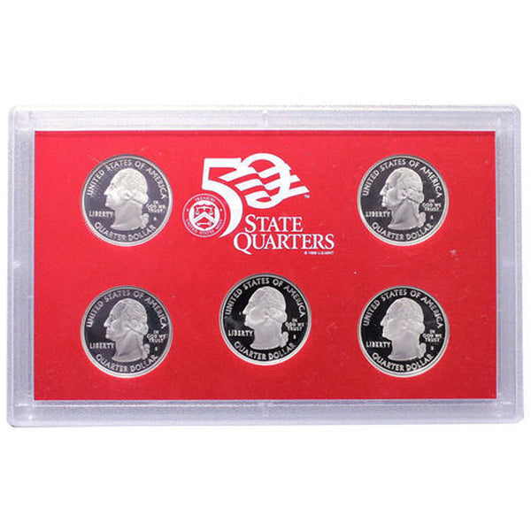 2008 Silver Proof Set (OGP) 14 coins