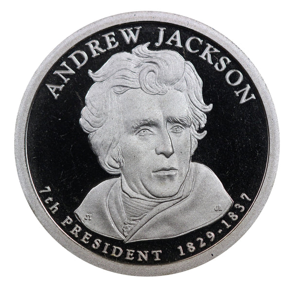 2008 S Andrew Jackson Presidential Dollar Proof Roll (20 Coins)