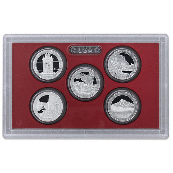 2010 Silver Proof Set (OGP) 14 coins