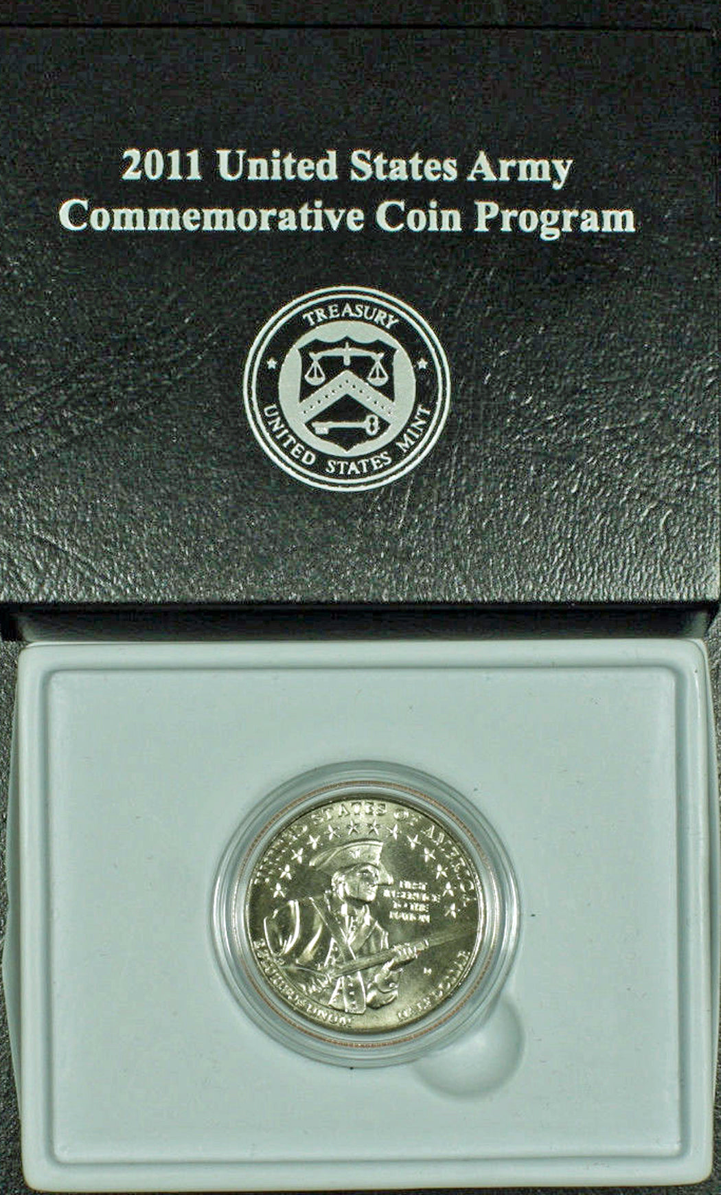 2011-D US Army Uncirculated Commemorative Half Dollar Clad OGP
