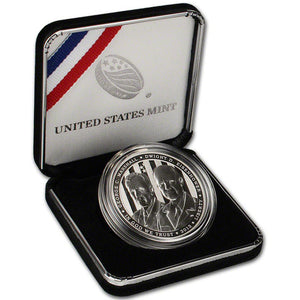 2013-P 5 Star Generals Proof Commemorative Dollar 90% Silver OGP