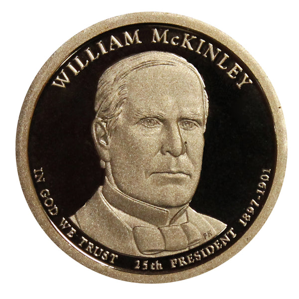 2013 S William McKinley Presidential Dollar Proof Roll (20 Coins)