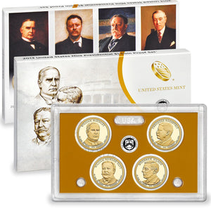 2013 Presidential Dollar Proof Set (OGP) 4 coins