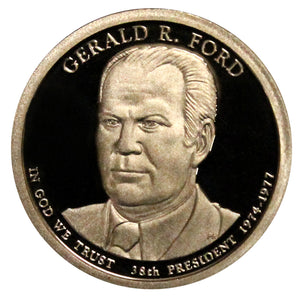 2016-S Gerald Ford Presidential Proof Dollar Gem Deep Cameo US Coin