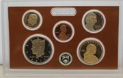 2012 Proof set 10 Pack CN-Clad Kennedy, Presidential Dollar, State quarters OGP 140 coins