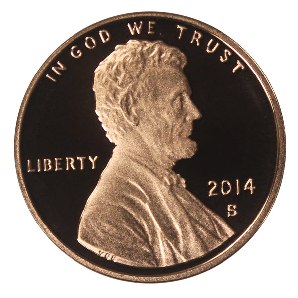 2014 Gem Deep Cameo Proof Lincoln Shield Cent