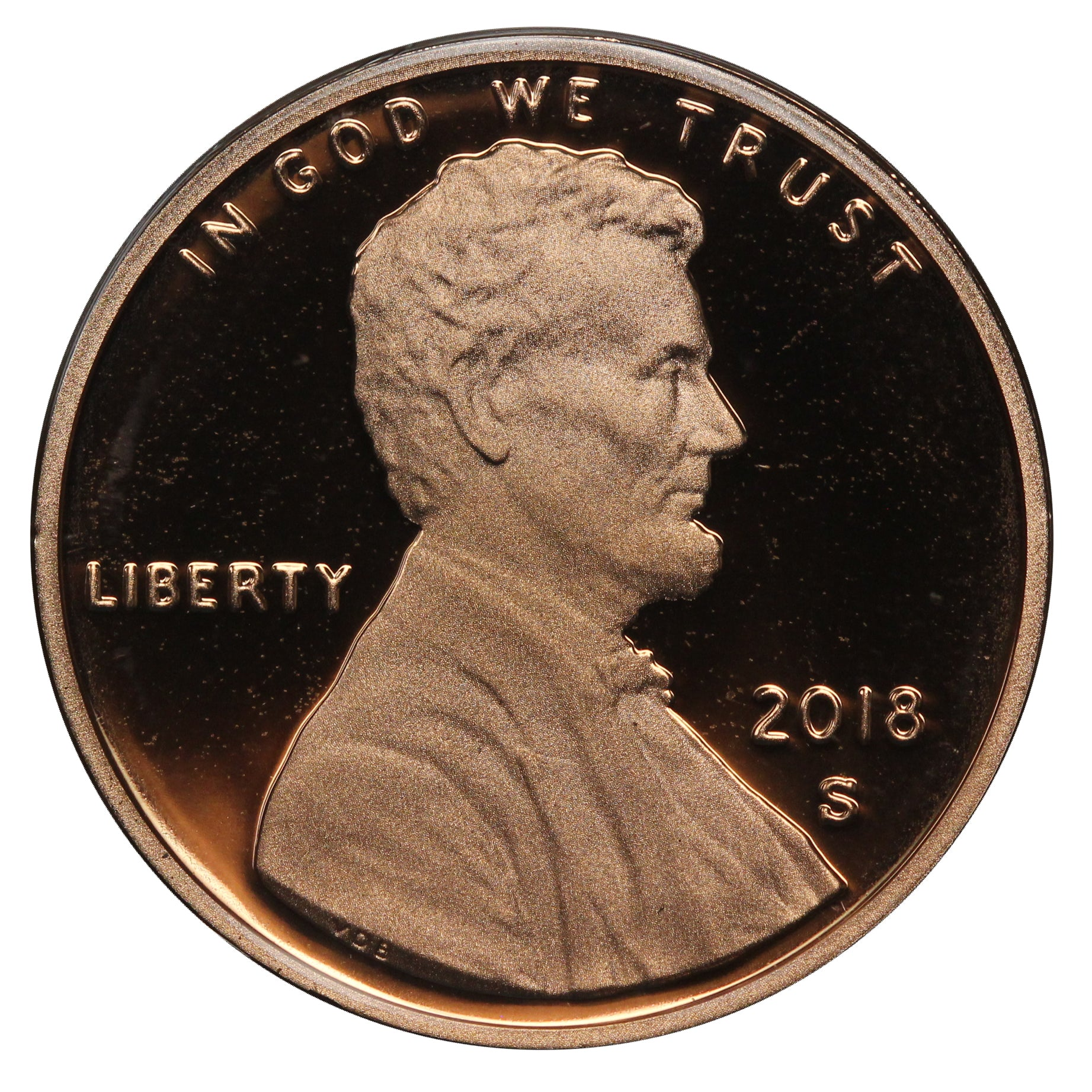 2018 Gem Deep Cameo Proof Lincoln Shield Cent