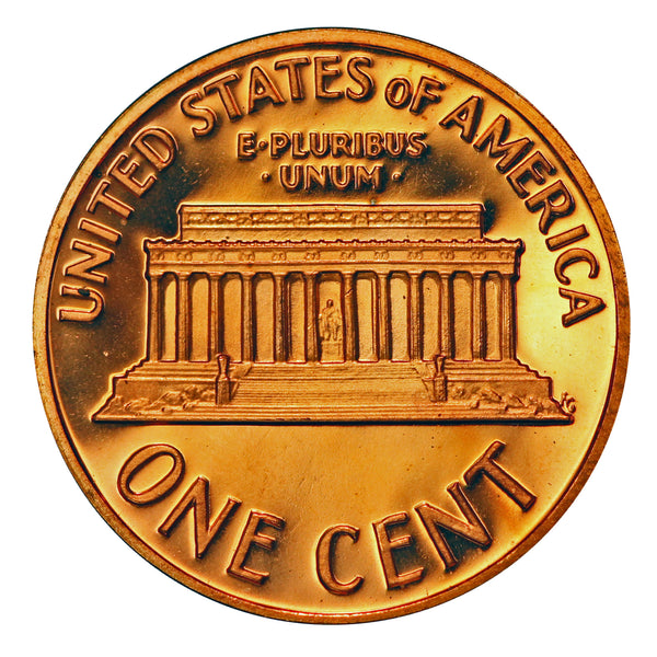 1975 Gem Proof Lincoln Memorial Cent