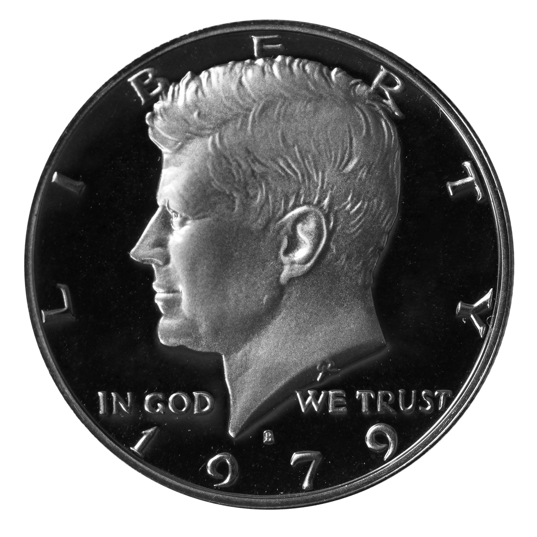 1979 S Kennedy Half Dollar CN-Clad Proof Type 2 Clear S
